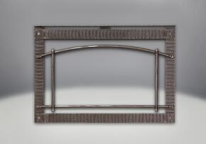 I3DPSSB Premium Wrought Iron Scalloped Artisan Steel Door with Safety Barri...