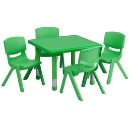Flash Furniture YUYCX00232SQRTBLGREENEGG