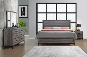 Global Furniture USA KATE-GR-KBDMNS