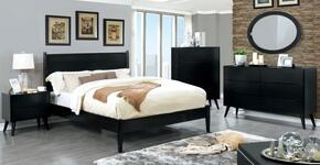 Furniture of America CM7386BKFBEDSET