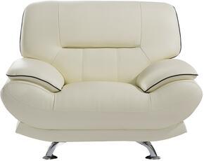 American Eagle Furniture EKB118IVCHR