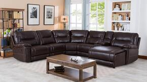Myco Furniture 1023RFCHBR