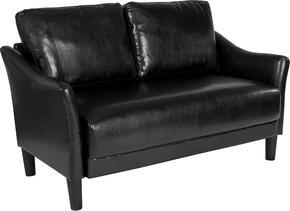 Flash Furniture SLSF9152BLKGG