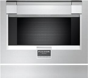 "Standard Stainless Steel Color Option for 30"" Pro Oven Door"