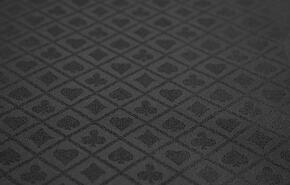 FABRIC-BLK-SS Poker Table Fabric Option - Black Suited Speed Cloth