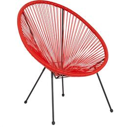Flash Furniture TLH094REDGG