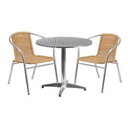 Flash Furniture TLHALUM32RD020BGECHR2GG
