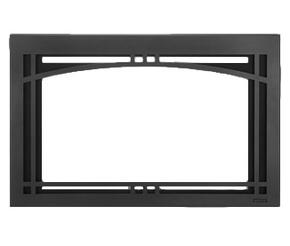 "CASFI30BK Contemporary Arch 30"" Screen Front in Black"