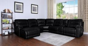 Myco Furniture 1021LFCHBK