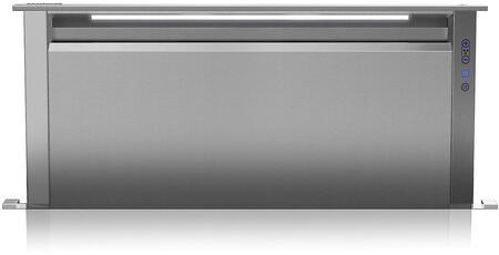 Viking 5 Series VDD5450SS Downdraft Hood Stainless Steel, 45 in Wide  Built-In Rear Downdraft