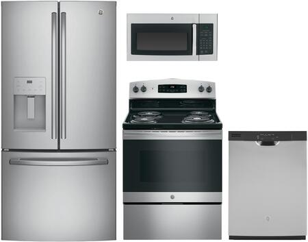 GE 1124879 Kitchen Appliance Package & Bundle Stainless Steel, main image