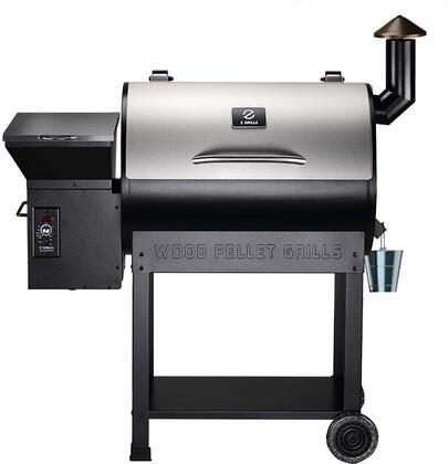 ZPG-7002E 48″ Freestanding Pellet Grill with 694 sq. in. Total Cooking Area  Digital Controller  20 lb Hopper Capacity  in Stainless