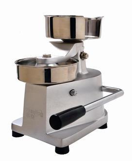 HF 130 Hamburger Press With Sheet Holder and Rubber -  Eurodib, HF130