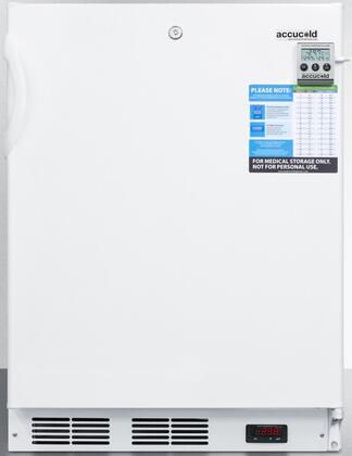 AccuCold  VT65ADA Compact Freezer White, VT65ADA Compact Freezer
