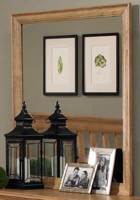 Carolina Furniture Sterling 496400 Mirror Brown, Main Image