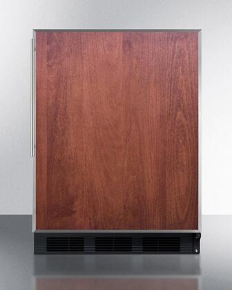 Summit  CT663BKBIFRADA Compact Refrigerator Panel Ready, CT663BFR Panel Ready Compact Refrigerator