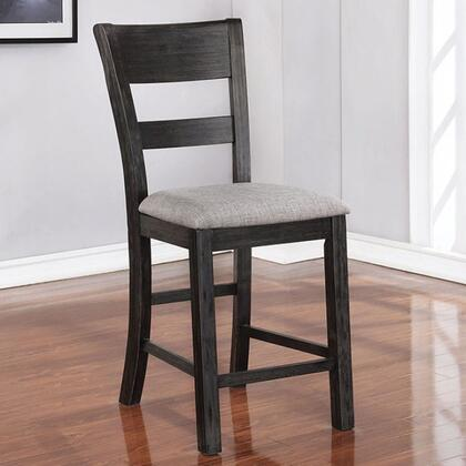 Furniture of America Sania CM3445PC2PK Dining Room Chair Black, cm3445pc 1