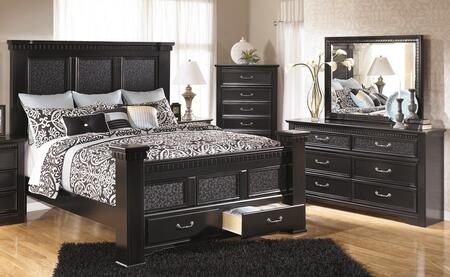 Signature Design by Ashley Cavallino Queen Bedroom Set with ...