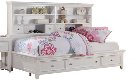 Acme Furniture Lacey 30590T Bed White, 1