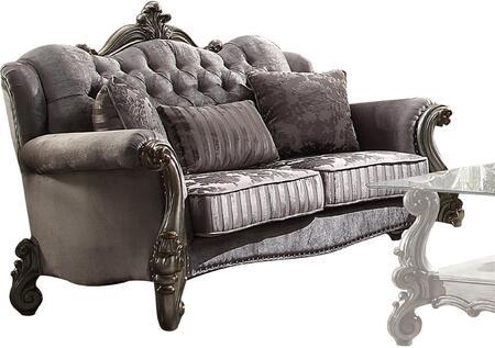 Acme Furniture Versailles 56841 Loveseat Silver, 1