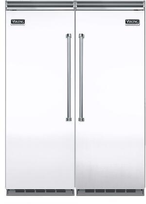 Viking 5 Series 734343 Refrigerator and Freezer Pairs White, Refrigerator/Freezer Set
