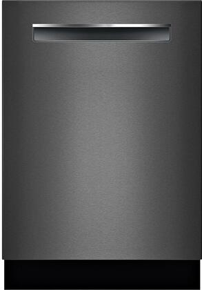Bosch 800 Series SHPM78W54N Built-In Dishwasher Black Stainless Steel, Main Image