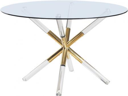 Meridian Mercury 916T Dining Room Table Multi Colored, 916T Main Image