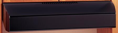 GE Profile JV535HBB Under Cabinet Hood Black, Main Image