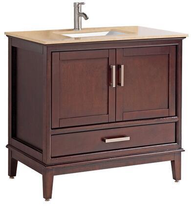 Sierra Collection MTD-6136T 36″ Single Sink Bathroom Vanity Set in