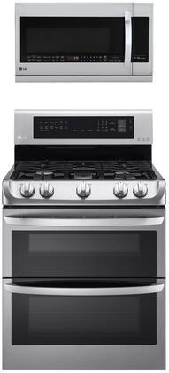 LG  1311156 Kitchen Appliance Package Stainless Steel, Main image