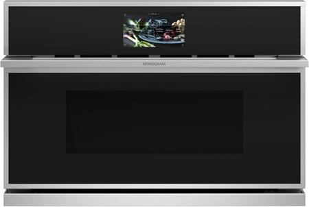 Monogram Minimalist ZSB9231NSS Single Wall Oven Stainless Steel, ZSB9231NSS Front View
