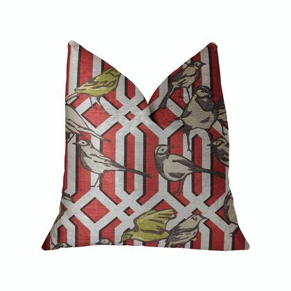 Plutus Brands Bird Forest PBRA22622036DP Pillow, PBRA2262