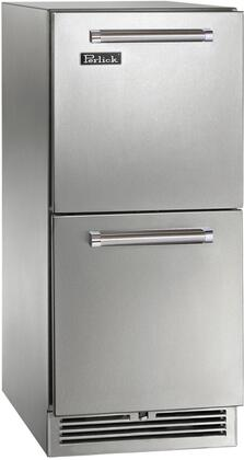 Perlick Signature HP15RS45 Drawer Refrigerator Stainless Steel, Main Image
