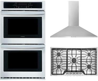 FFET2726TS 37 Electric Double Wall Oven and FHWC3655LS 36 Wall ...