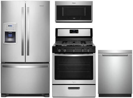Whirlpool 1127425 Kitchen Appliance Package & Bundle Stainless Steel, main image