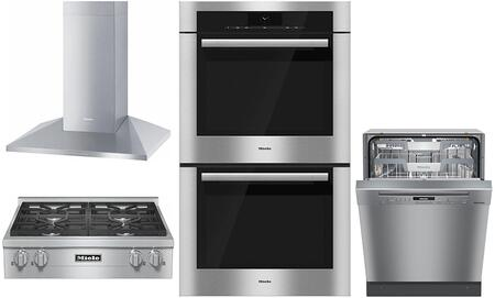 Miele  887247 Kitchen Appliance Package Stainless Steel, Main Image