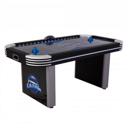 45-6800W Lumen-X Lazer 6′ Air Hockey Table with All-Rail LED Lighting and In-Game