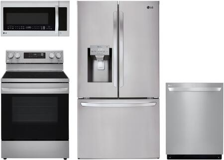 LG  1094290 Kitchen Appliance Package Stainless Steel, Main Image