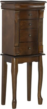 Powell Louis Philippe 741319 Jewelry Armoire Brown, Main Image