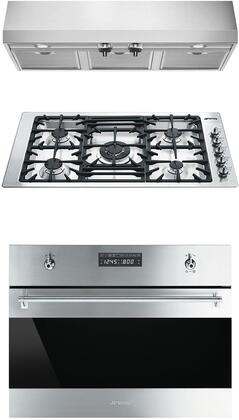 Smeg 1054469 Kitchen Appliance Package & Bundle Stainless Steel, main image