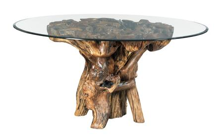 Hidden Treasures Collection 090-985R ROOT BALL DINING TABLE in Medium