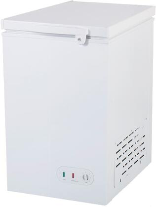 MXSH3.4S 23″ Select Series Solid Chest Freezer with 3.4 cu. ft. Capacity  Lid Lock and Manual Defrost in