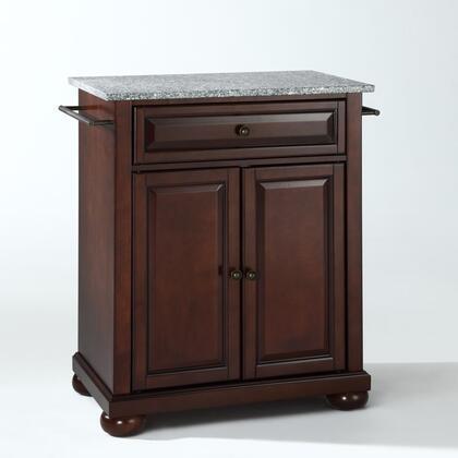 Crosley Furniture Alexandria KF30023AMA Kitchen Island Brown, KF30023AMA W1