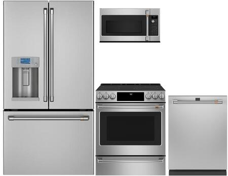 Cafe  1067720 Kitchen Appliance Package Stainless Steel, Main image