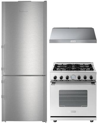 Liebherr  848772 Kitchen Appliance Package Stainless Steel, main image