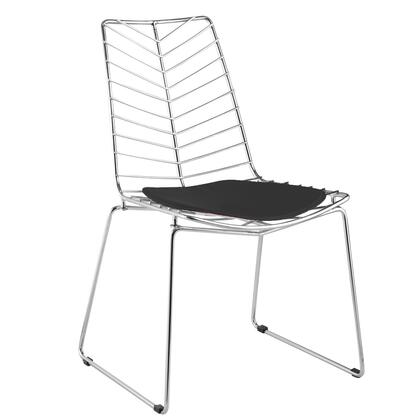 Fine Mod Imports Wire FMI2014BLACK Accent Chair , Image 1