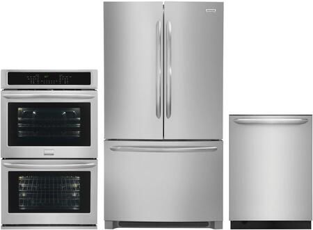 Frigidaire 1102008 Kitchen Appliance Package & Bundle Stainless Steel, main image