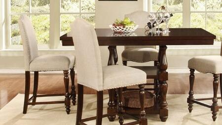 Myco Furniture Palisades PA635PT Bar Table Brown, 1