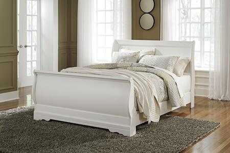 Signature Design by Ashley Anarasia B129777498 Bed White, Main Image