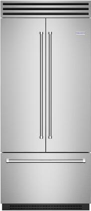 BlueStar  BBBF361PLT French Door Refrigerator Stainless Steel, BBBF361PLT French Door Refrigerator